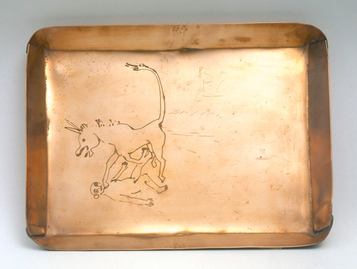 Alexander Calder: Copper Tray