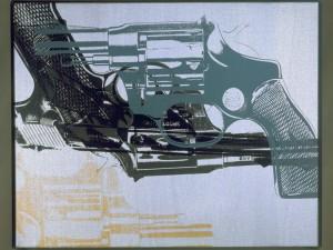 Andy Warhol Guns Silver