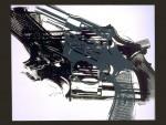Andy Warhol: Guns White
