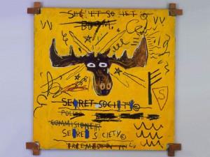 Jean-Michel Basquiat Roosevelt III