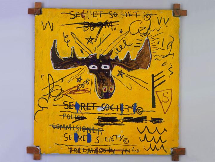 Jean Michel Basquiat: Roosevelt III