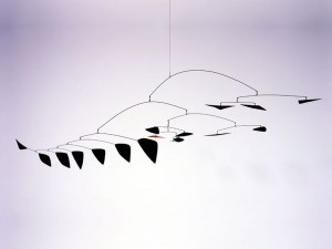 Alexander Calder Lone Red Amongst Black