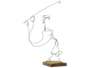 Alexander Calder Golfer