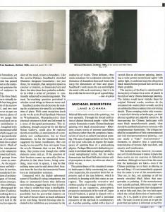 Artforum, January, 1991
