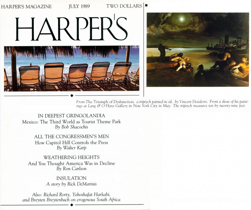 Harper's Magazine, July, 1989