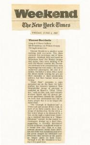 New York Times, June 2, 1989