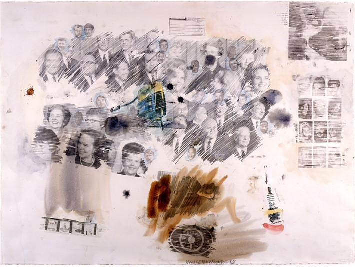 Robert Rauschenberg: Untitled 68