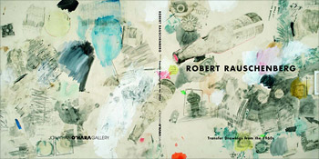 Robert Rauschenberg - Transfer Drawings from the 1960s